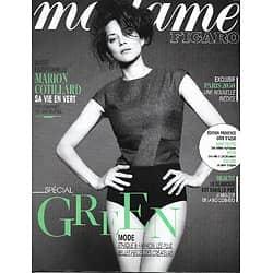 MADAME FIGARO n°21436 05/07/2013  Marion Cotillard/ Spécial Green/ Ecologie