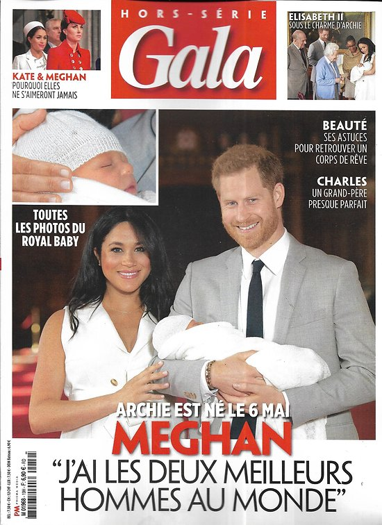 GALA n°19H juin 2019  Royal Baby/ Archie/ Meghan & Harry/ Windsor/ Famille royale d'Angleterre