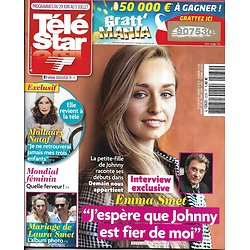 TELE STAR n°2230 29/06/2019  Emma Smet/ Mallaury Nataf/ Laura Smet/ Jennifer Lopez/ Jennifer Aniston