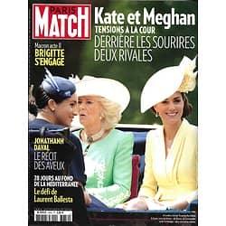 PARIS MATCH n°3659 27/06/2019  Kate & Meghan, tensions à la cour/ Jonathan Daval, les aveux/ Au fond de la Méditerranée/ Danser jusqu'à l'extase/ Trump part en campagne