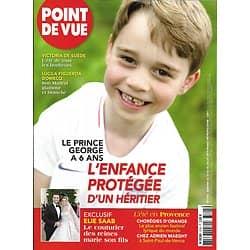 POINT DE VUE n°3705 24/07/2019  Prince George/ Elie Saab/ Victoria de Suède/ Adrien Maeght