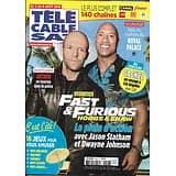 "TELECABLE SAT HEBDO n°1526 03/08/2019  Dwayne Johnson & Jason Statham ""Fast & Furious""/ Arthur/ ""Preacher""/ Jeremiah Johnson"