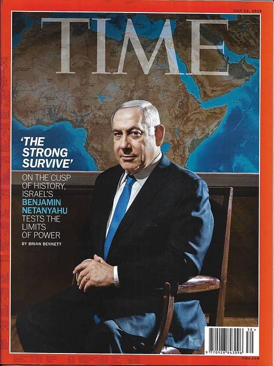 TIME VOL.194 n°3 22/07/2019  Netanyahu's Israel/ Kavanaugh & Supreme Court/ Instagram's battle plan