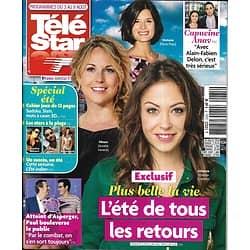 """TELE STAR n°2235 03/08/2019  """"Plus belle la vie""""/ Robert Redford/ Capucine Anav/ Camille Cerf/ Joe Dassin"""
