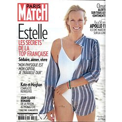 PARIS MATCH n°3662 18/07/2019  Estelle Lefébbure/ Apollo 11/ Réchauffement climatique/ Le Suffren/ Kate & Meghan