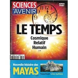 SCIENCES ET AVENIR n°869-870 juillet-août 2019  Dernières nouvelles du Temps/ Nouvelle histoire des Mayas/ Le secrets des échantillons d'Apollo