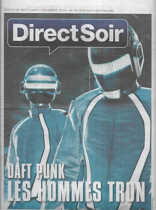 DIRECT SOIR n°865 06/12/2010  Daft Punk/ Calogero/ E-books/ Télévision saga
