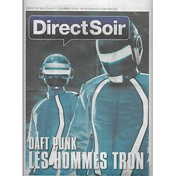 DIRECT SOIR n°865 06/12/2010  Daft Punk/ Calogero/ E-books/ Télévision saga