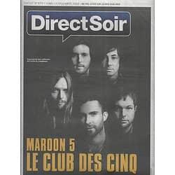 DIRECT SOIR n°870 13/12/2010  Maroon 5/ Adam Levine/ Rohff/ Tourisme spatial