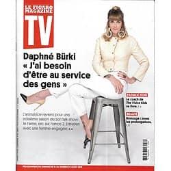 TV MAGAZINE 16/08/2019 n°1698  Daphné Bürki/ Patrick Fiori/ La meilleure boulangerie de France