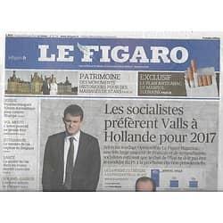 LE FIGARO n°21714 30/05/2014  Candidature PS/ Plan antitabac/ Mariages au château