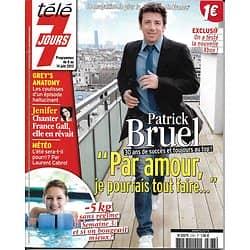 TELE 7 JOURS n°2767 08/06/2013  Patrick Bruel/ Natasha St-Pier/ Jenifer/ Gaulois/ Julien Doré