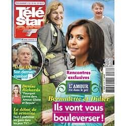 """TELE STAR n°2238 24/08/2019  """"L'amour est dans le pré""""/ Alain Delon/ Denise Richards/ Mathilde Seigner/ Guillaume Canet/ Nolwenn Leroy"""