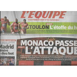 L'EQUIPE n°21859 23/05/2014  AS Monaco/ RC Toulon/ Alonso/ Gilles Simon/ Madrid