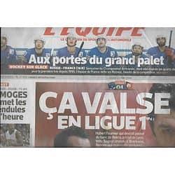 L'EQUIPE n°21858 22/05/2014  Fournier & Sagnol/ Hockey France/ Limoges/ Xavier Chiocci/ Bianchi & Marussia