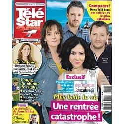"""TELE STAR n°2241 14/09/2019  15 ans de """"Plus belle la vie""""/ Léa Salamé/ Corinne Masiero/ Pierre Arditi/ Cécile Bois/ Coupe du monde du rugby"""