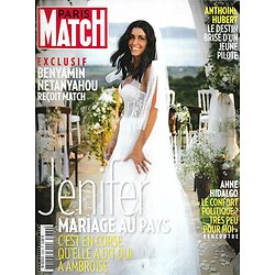 PARIS MATCH n°3669  05/09/2019  Jenifer, mariage au pays/ Exclusif: Netanyahou/ Anthoine Hubert, destin brisé/ Les Smokejumpers/ Animaux en esclavage