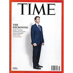TIME VOL.194 n°13 07/10/2019  Justin Trudeau, the reckoning/ Trump's Ukraine crisis/ Information wars/ The Joker