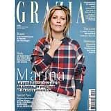 GRAZIA n°508 27/09/2019  Marina Foïs/ Spécial Paris/ Jeanne Damas/ Trump et les femmes/ Charlotte Perriand