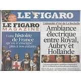 LE FIGARO n°20860 27/08/2011  Guerre au PS/ L'après-Kadhafi/ Emeutiers brittaniques/ Ouragan Irene/ Brel/ Lagerfeld/ Teddy Riner