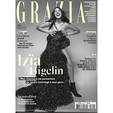 GRAZIA n°509 04/10/2019  Izïa Higelin/ Jacques Chirac/ Chiara Mastroianni/ Mères porteuses/ Le PrEP en Ouganda/ Haute couture