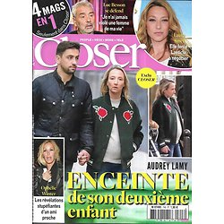 CLOSER n°748 11/10/2019  Audrey Lamy/ Laura Smet/ Luc Besson/ Ophélie Winter/ Dakota Johnson/ Laurent Mariotte