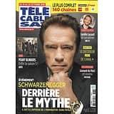 TELECABLE SAT HEBDO n°1537 19/10/2019  Arnold Schwarzenegger/ Peaky Blinders/ Camille Lacourt/ Léonard de Vinci