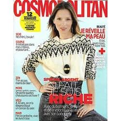 COSMOPOLITAN n°551 octobre 2019   Spécial Argent/ Rita Ora/ Je réveille ma peau/ Belgrade/ Mode petits prix