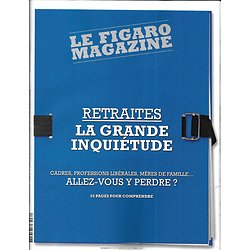LE FIGARO MAGAZINE n°23382 18/10/2019  Retraites, la grande inquiétude/ Los Angeles/ Le Greco/ A.M.E./ AlUla en Arabie saoudite/ JP Raynaud