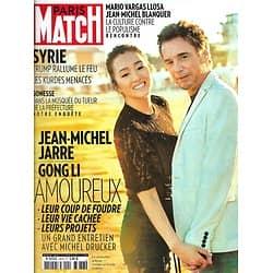 PARIS MATCH n°3676 17/10/2019  Gong Li & Jean-Michel Jarre/ Angelina Jolie/ Sahel, route des migrants/ Syrie: Trump rallume le feu