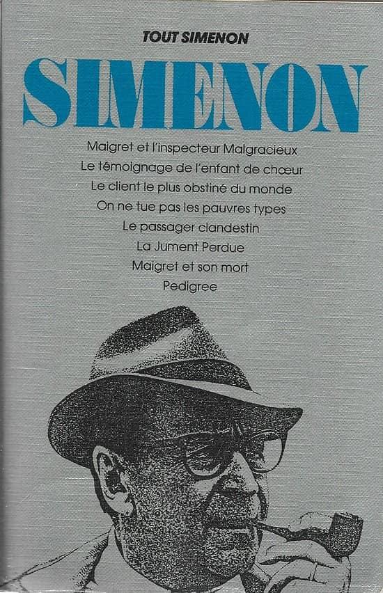 """""""Tout Simenon"""" Tome 2 (8 romans)/ Presses de la Cité/ Livre grand format (in-8)"""
