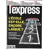 L'EXPRESS n°3564 23/10/2019  L'école est-elle encore laïque?/ La cryptomonnaie Libra/ Le génie de Léonard de Vinci/ Elizabeth Warren