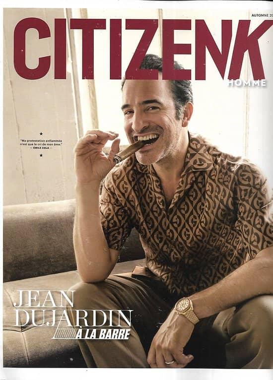CITIZEN K HOMME n°24 automne 2019  Jean Dujardin/ Mode/ L'affaire Kieber/ Liechtenstein