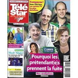 """TELE STAR n°2248 02/11/2019  """"L'amour est dans le pré""""/ """"Mask Singer""""/ Alain Souchon/ Julia Roberts/ """"Nina"""""""