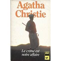"""""""Le crime est notre affaire"""" Agatha Christie/ Livre poche"""