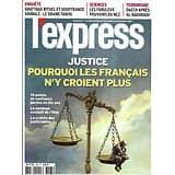L'EXPRESS n°3565 30/10/2019  Défiance des Français envers la justice/ Les pouvoirs du nez/ Enfants Bokassa/ L'abattage rituel