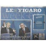 LE FIGARO n°23382 18/10/2019  Dernière chance pour le Brexit/ Réforme des retraites/ Procès Balkany