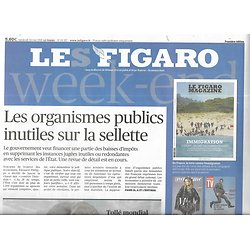 """LE FIGARO n°23257 24/05/2019  Fin des comités inutiles/ Elections Européennes/ Chasse aux éléphants/ Cannes """"Sybil"""""""