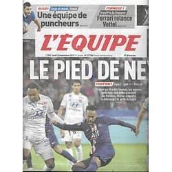 L'EQUIPE n°23798 23/09/2019  Neymar - PSG/ Griezmann/ Rugby Coupe du Monde & les Bleus/ Ferrari & Vettel/ Mariya Lasitskene/ Greta Thunberg