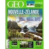 GEO n°488 octobre 2019  Nouvelle-Zélande, l'ivresse des grands espaces/ Zanzibar/ Le Néguev en Israël/ Transylvanie