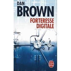 """""""Forteresse digitale"""" Dan Brown/ Très bon état/ Le livre de Poche"""