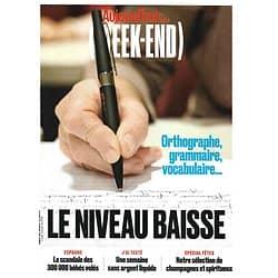 AUJOURD'HUI EN FRANCE MAGAZINE n°6585 29/11/2019  Français: le niveau baisse/ Espagne: scandale des bébés volés/ Une semaine sans argent liquide