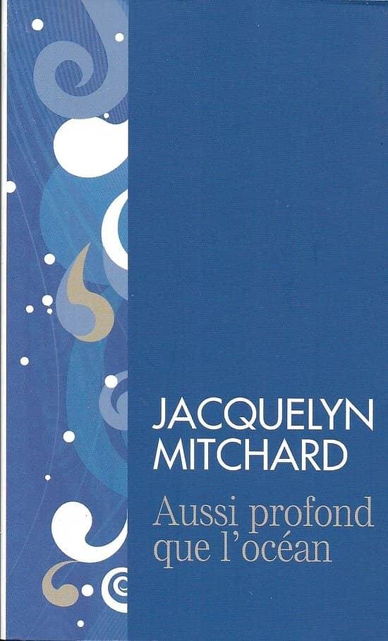 """Aussi profond que l'océan"" Jacquelyn Mitchard/ Livre poche"