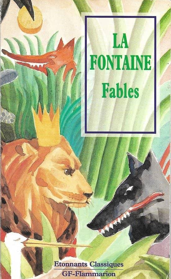 """""""Fables"""" La Fontaine/ Etonnants Classiques/ Garnier-Flammarion/ Très bon état/ Livre poche"""