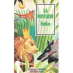 """""""Fables"""" La Fontaine/ Etonnants Classiques/ Livre poche"""