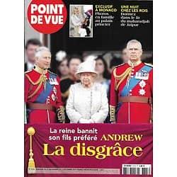 POINT DE VUE n°3723 03/12/2019  Prince Andrew la disgrâce/ Monaco: photos en famille/ The Crown: le vrai du faux/ Gérard Philipe/ Opéra royal de Versailles