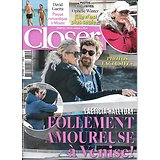 CLOSER n°755 29/11/2019  Laeticia Hallyday/ Ophélie Winter/ David Guetta/ Kaia Gerber/ Tom Hanks
