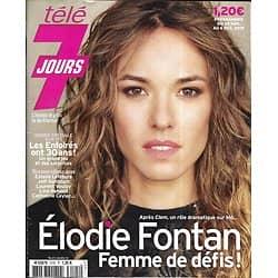 TELE 7 JOURS n°3105 30/11/2019  Elodie Fontan/ Les Enfoirés/ Jeff Goldblum/ Dakota Johnson/ Estelle Lefébure/ Line Renaud