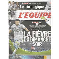 L'EQUIPE n°23874 08/12/2019  OM-Bordeaux/ Mbappé & Neymar/ Stade Toulousain/ Anthony Joshua/ Johan Clarey