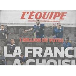 L'EQUIPE n°21849 13/05/2014  Equipe de France: vos 23 pour la Coupe du monde/ Clermont & Cotter/ Limoges/ Lamborghini